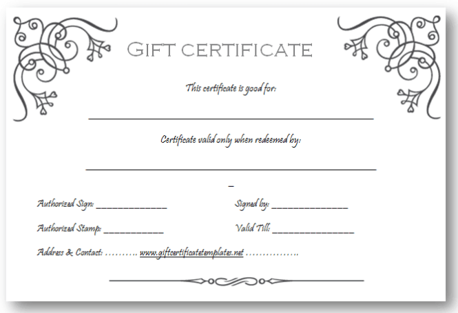 Doc750320 Free Template for Gift Certificate click here for – Gift Certificate Maker Free