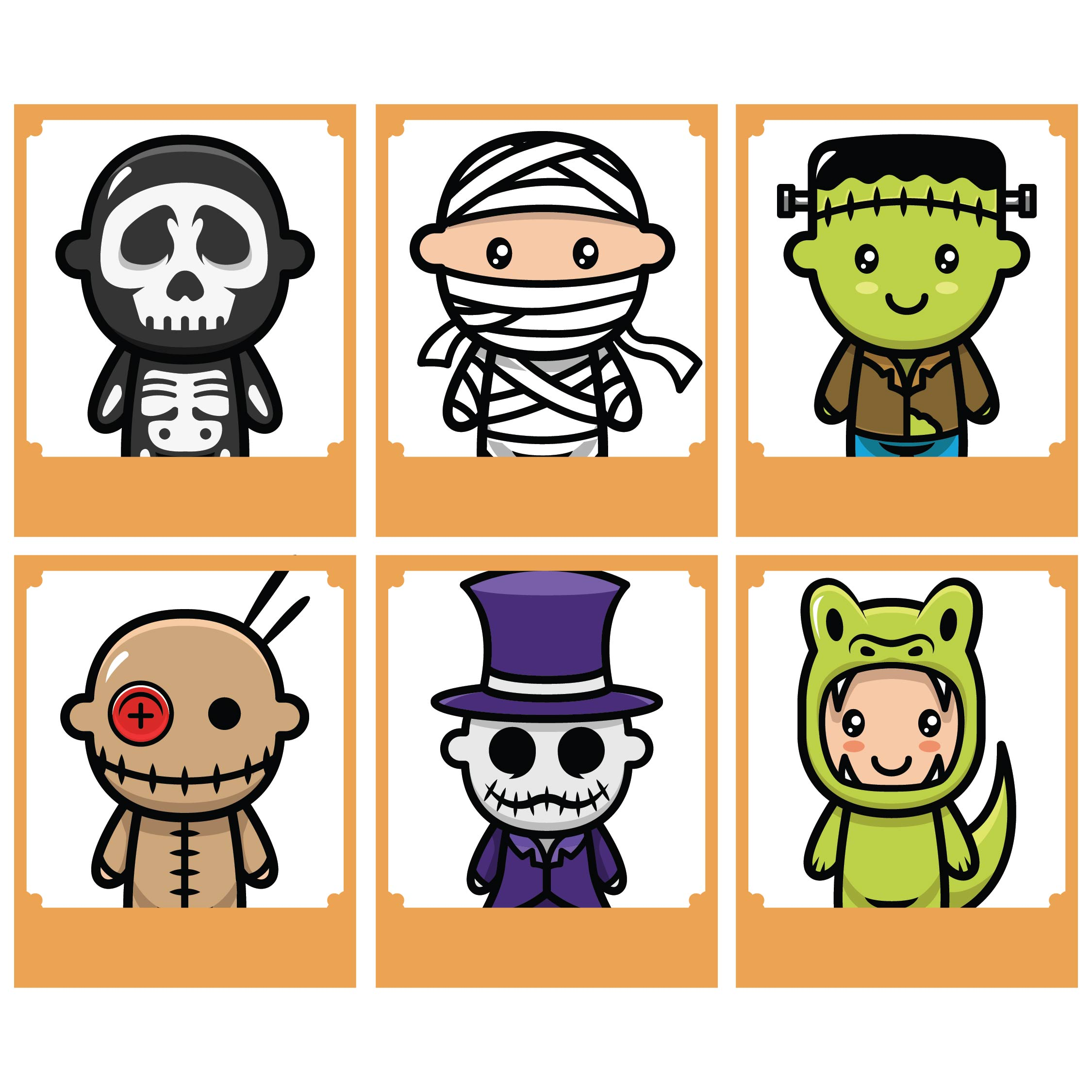 7 Best Free Printable Halloween Memory Game
