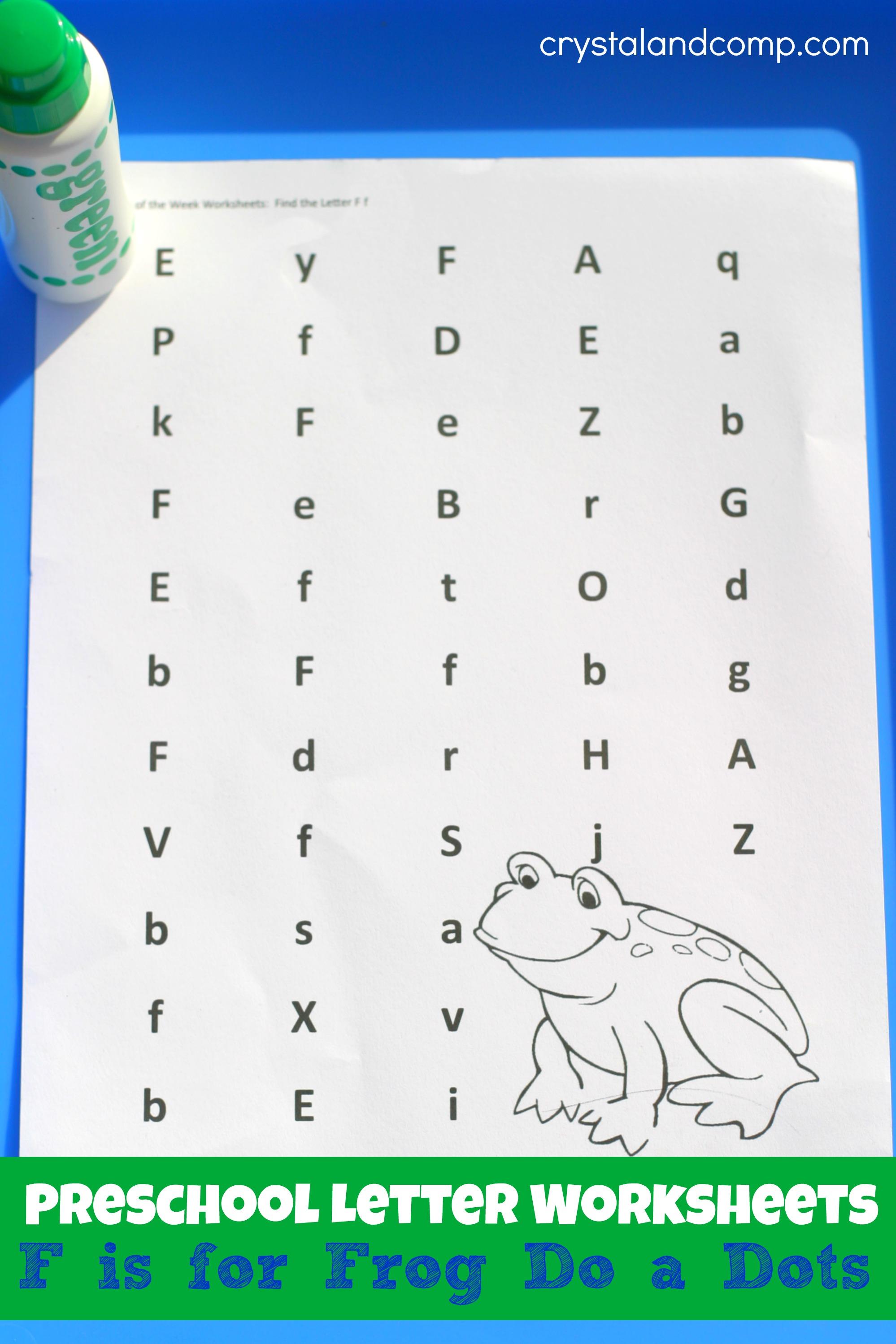 6 Best Images Of Do A Dot Letter Printables