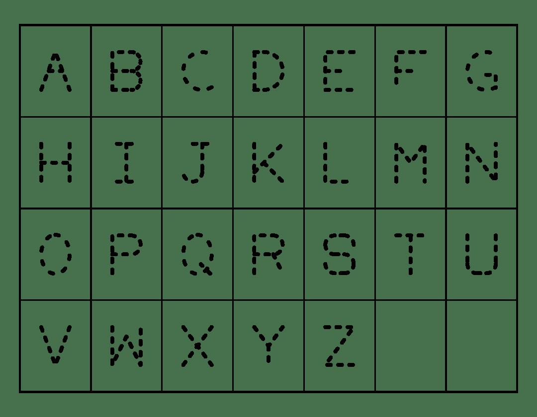 4 Best Kids Letter Tracing Printables