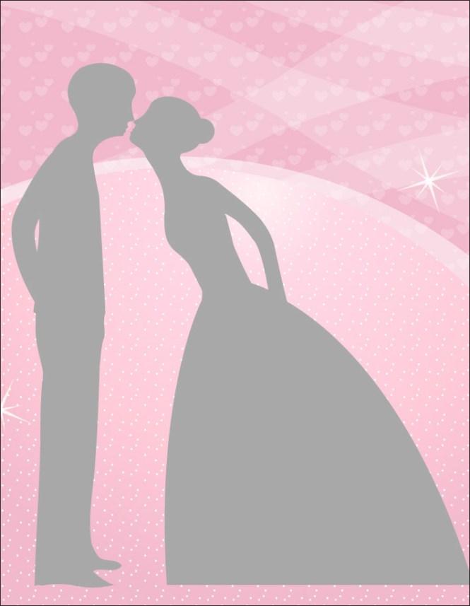 Wedding Reception Only Invitations On Kraft Paper Rustic Confetti Lights Invites Digital Printable Set