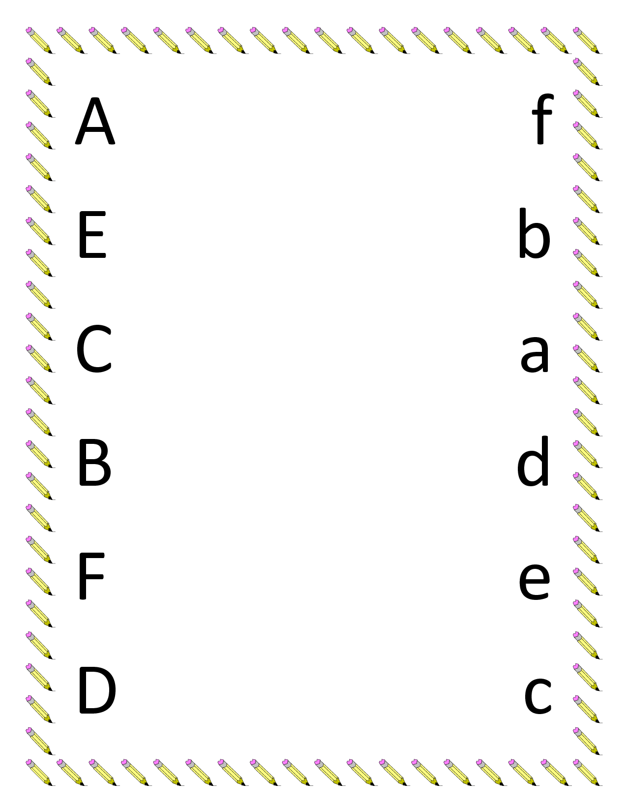 5 Best Images Of Printable Preschool Letter Activities