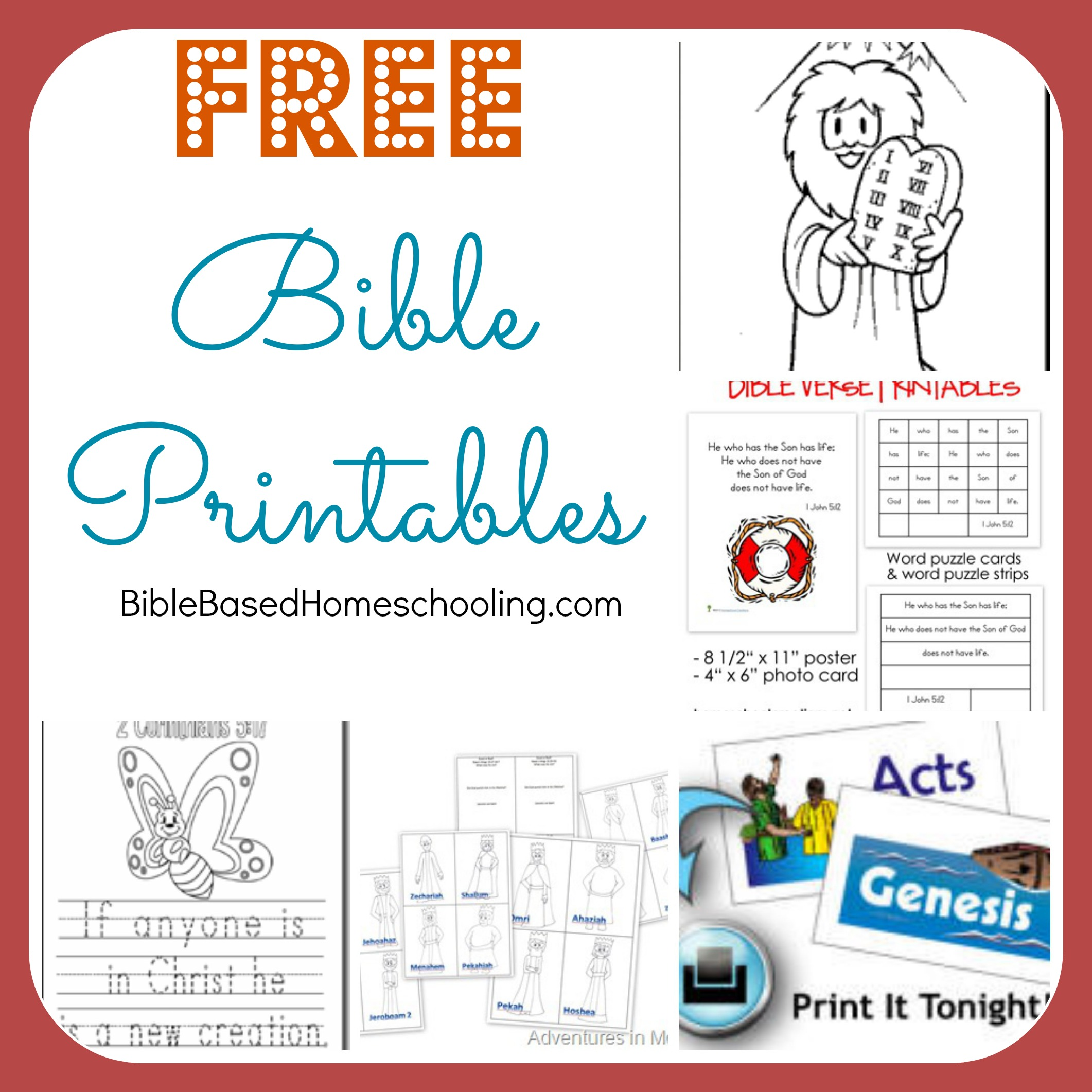 6 Best Images Of Printable Bible Worksheets On Books