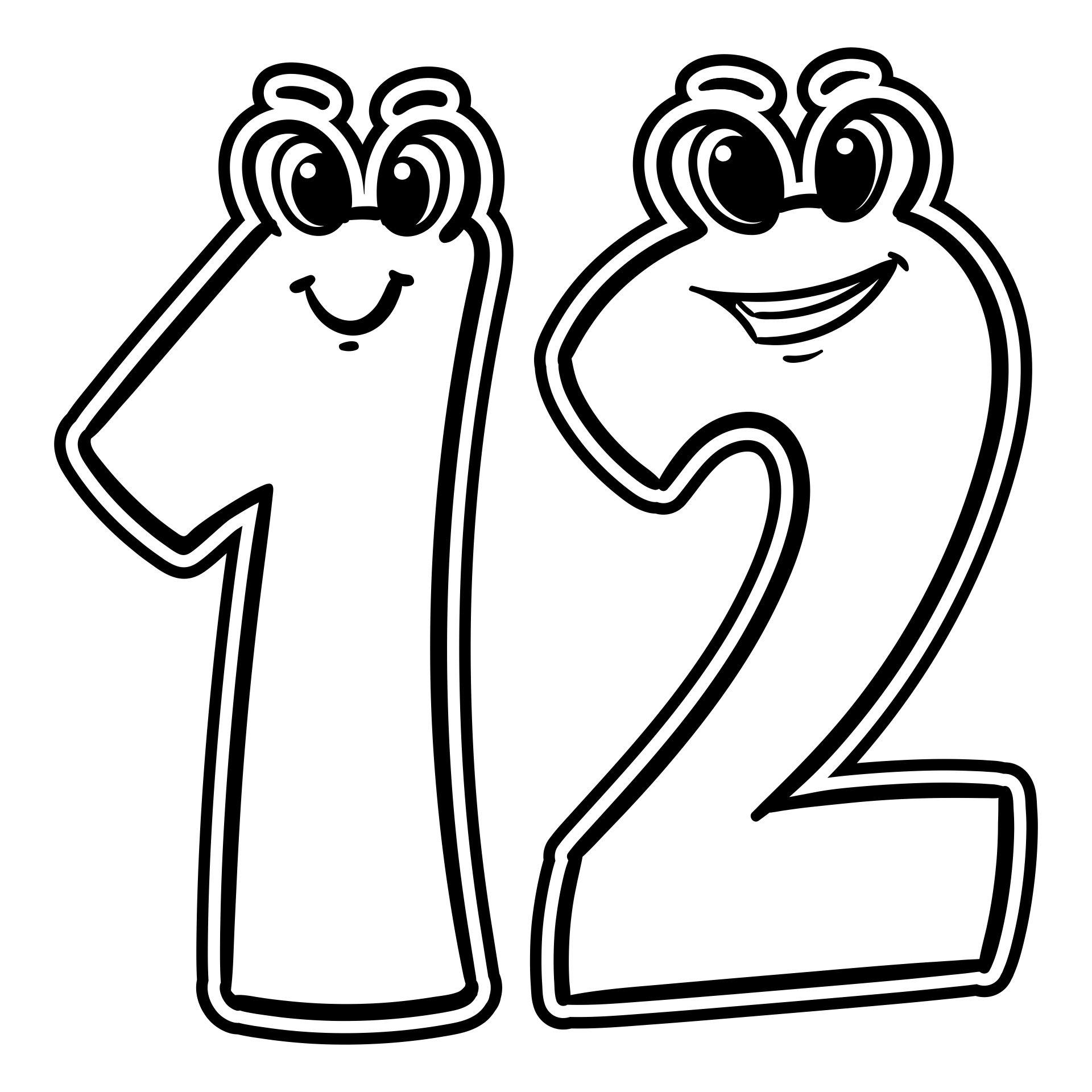 5 Best Images Of Preschool Printables Number 12