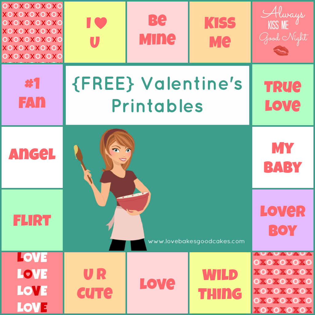 7 Best Images Of Printable Valentine Conversation Heart Sayings