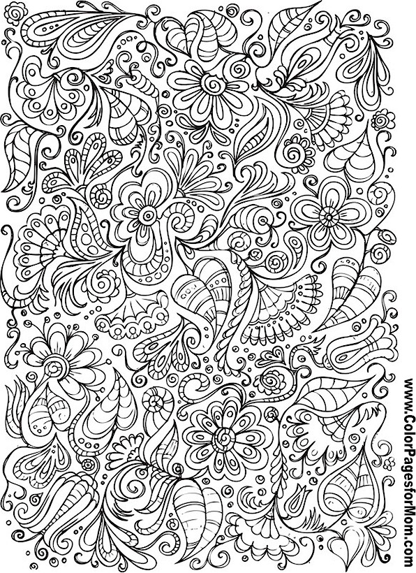 9 Best Images Of Doodle Coloring Pages Owl Printable
