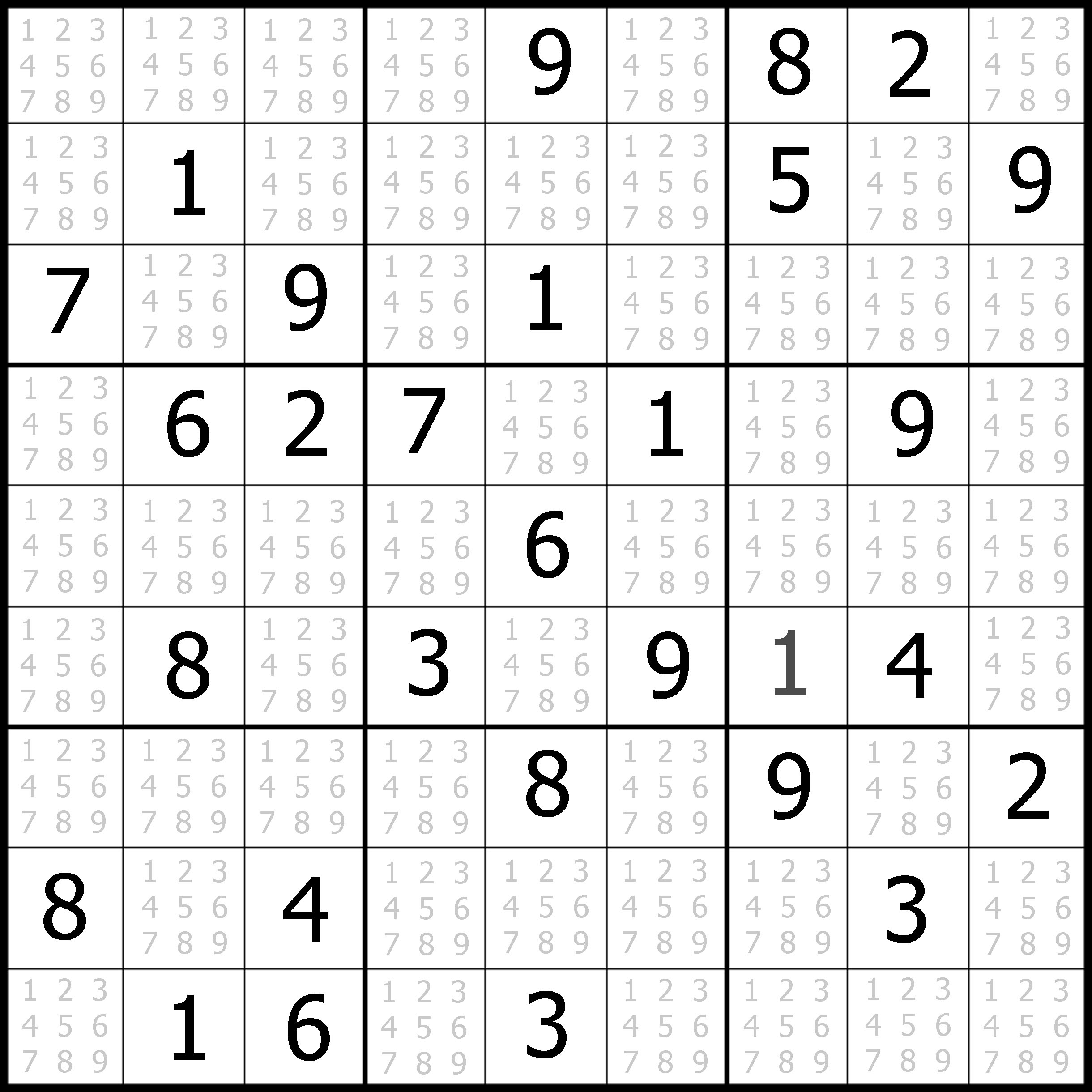 7 Best Images Of Printable Challenging Puzzle