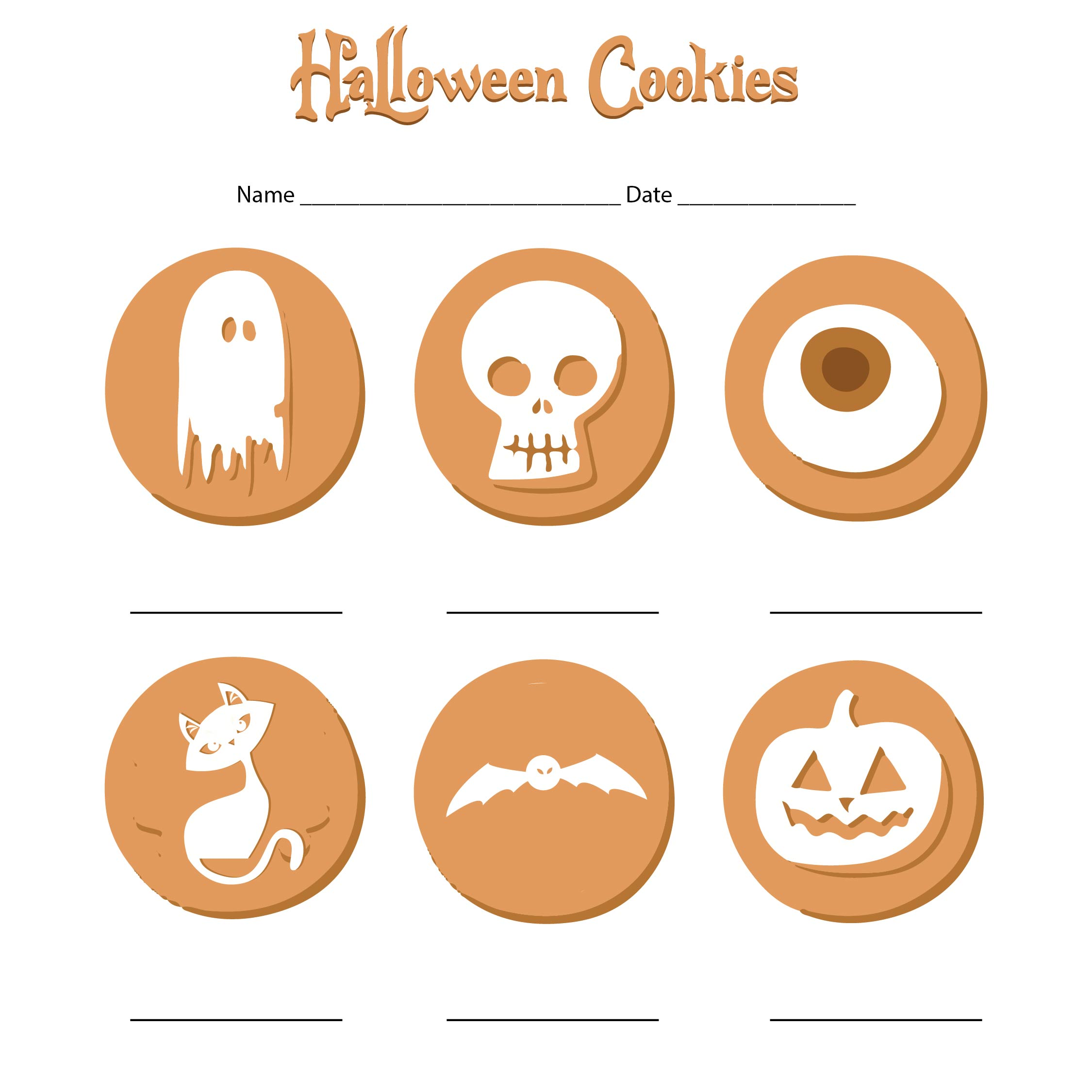 7 Best Images Of Cut And Paste Halloween Printables