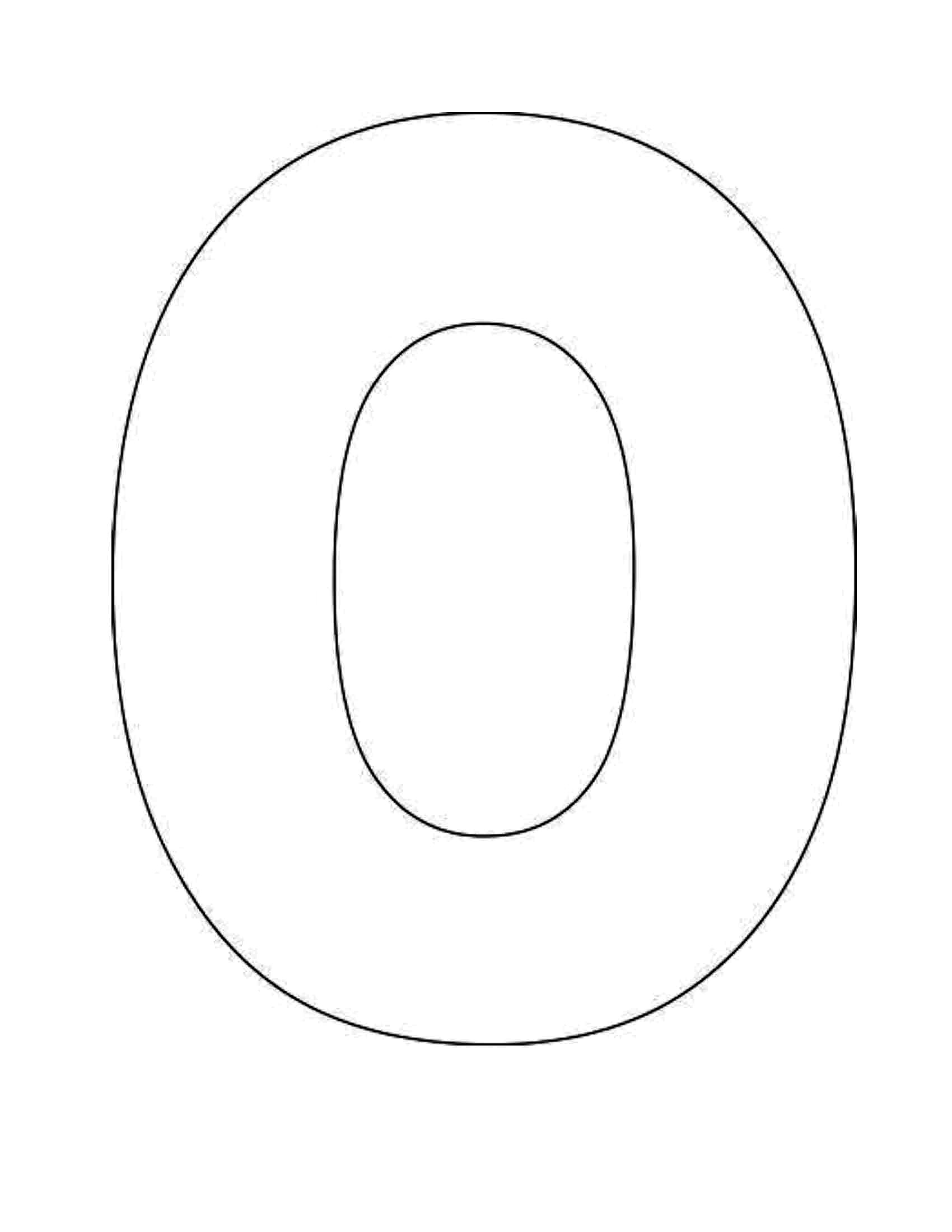 5 Best Images Of Printable Letter O Template