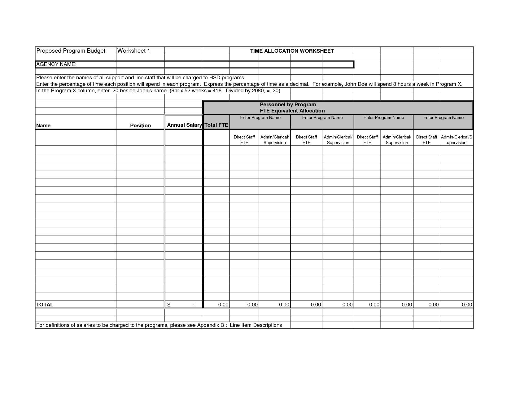 5 Best Free Printable Time Management Sheets