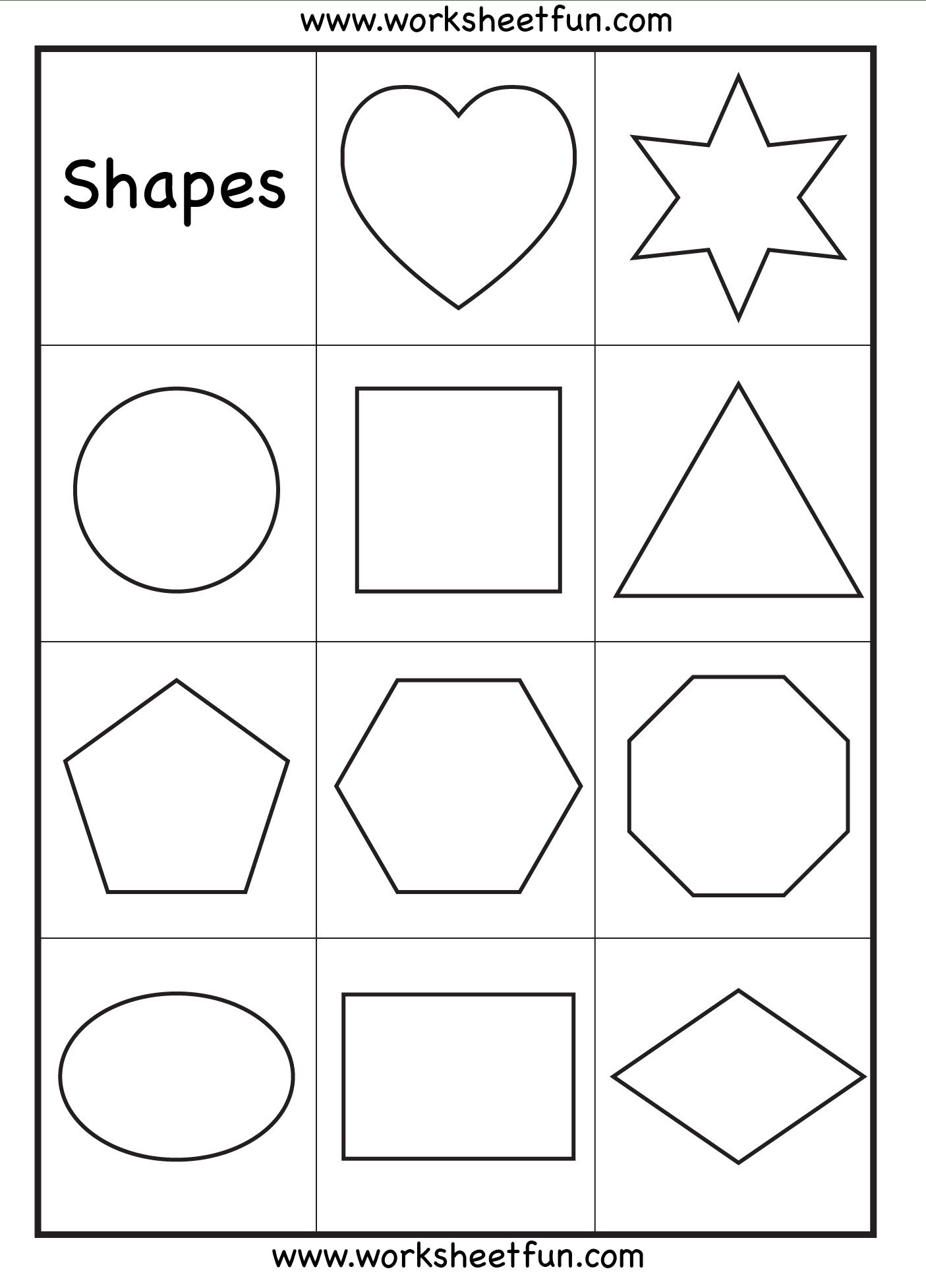 6 Best Images Of Basic Shapes Printables