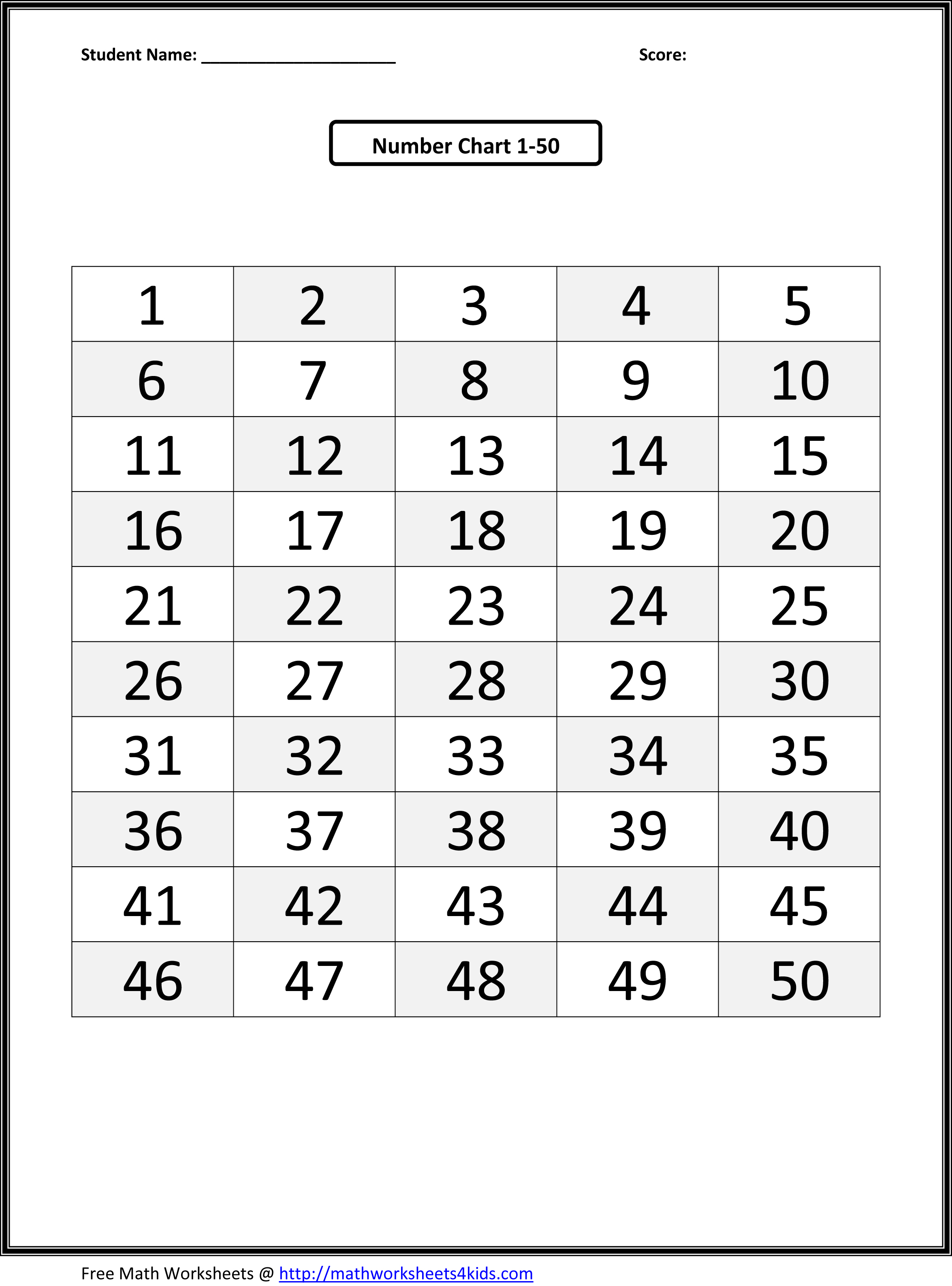 Number Printable Images Gallery Category Page 27