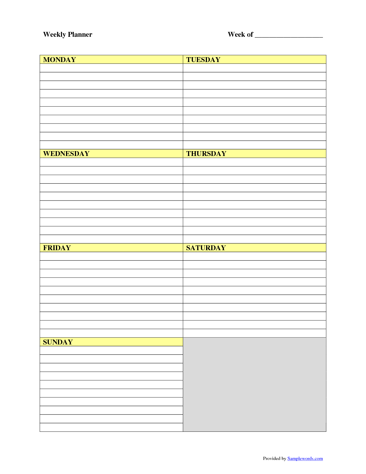 Weekly Printable Images Gallery Category Page 2