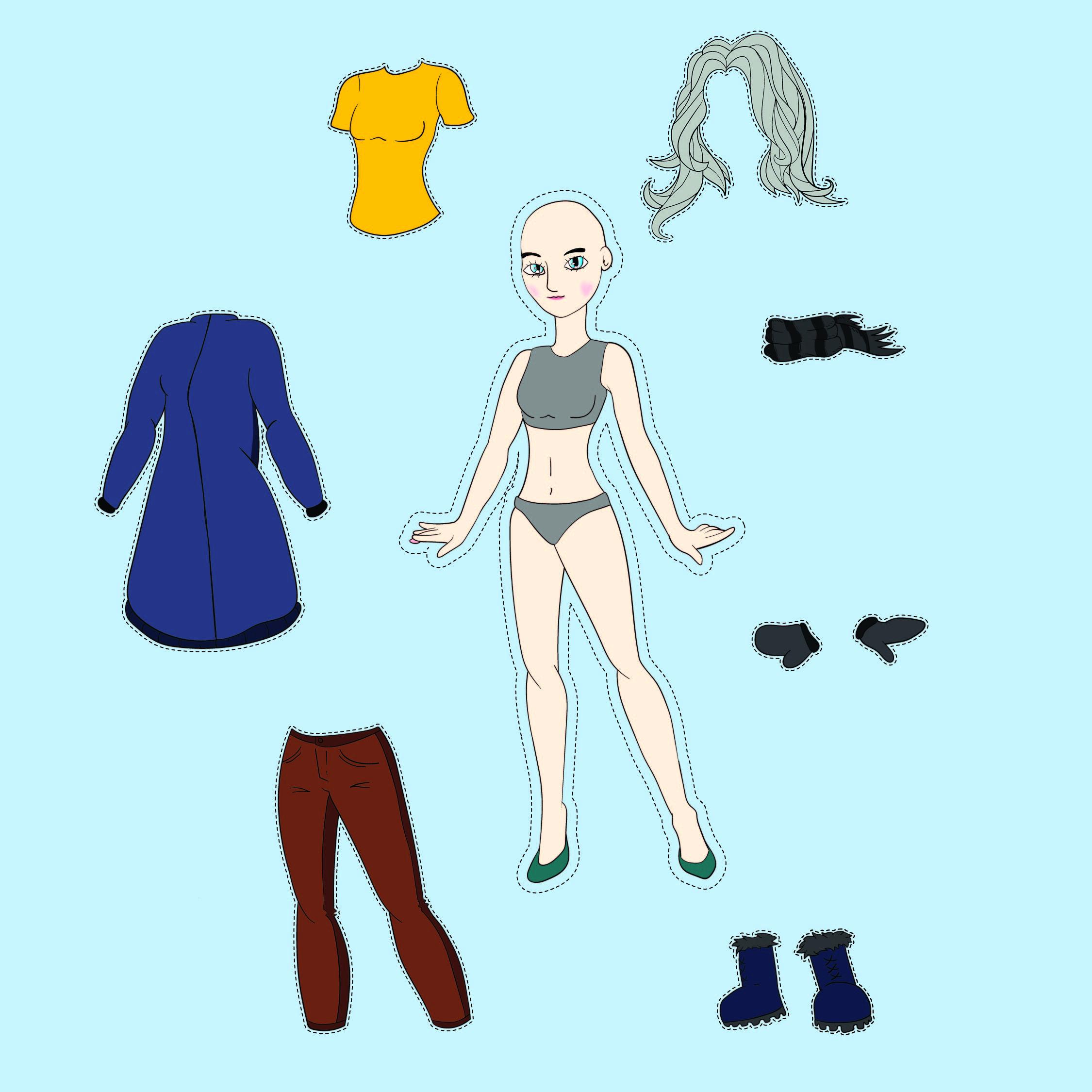 7 Best Clothing Printable Worksheets For Preschoolers
