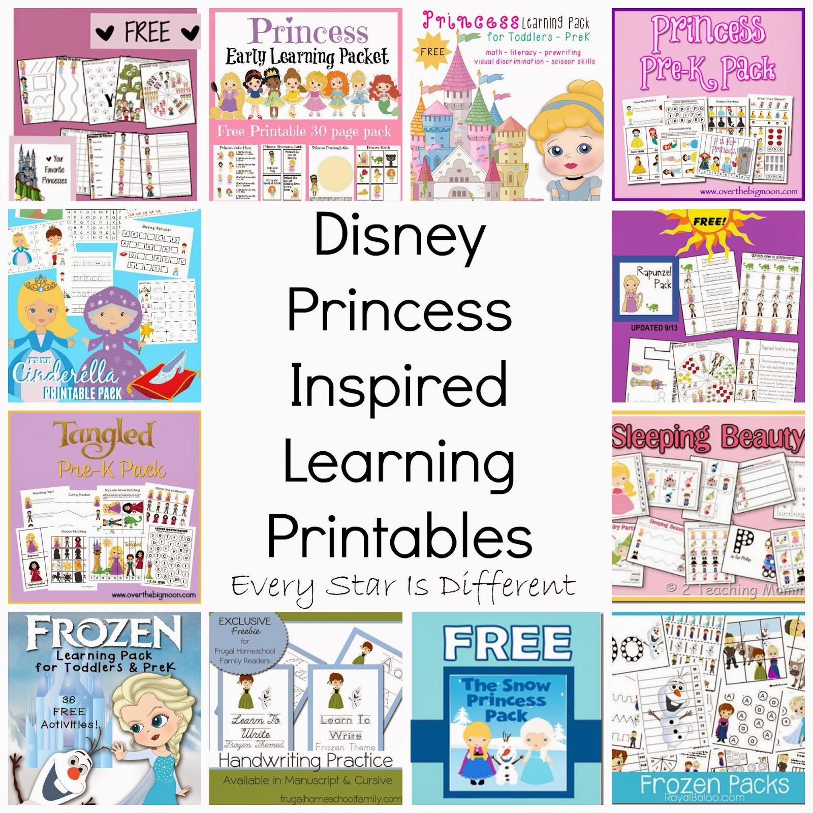 8 Best Images Of Disney Princess Printable Activities