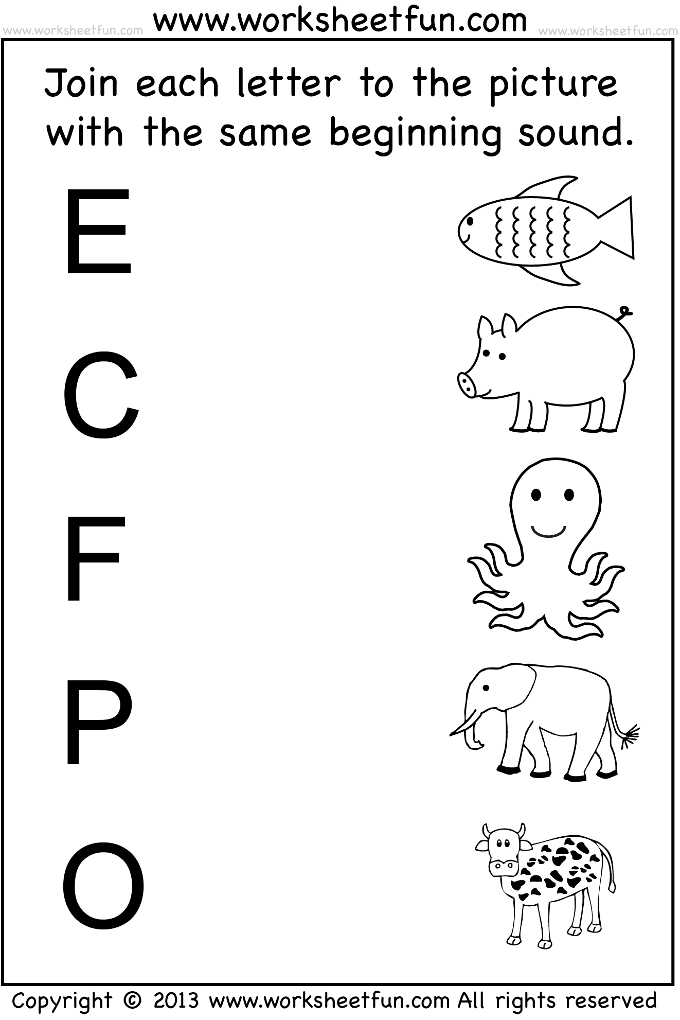 6 Best Images Of Full Pages Preschool Printable Worksheet