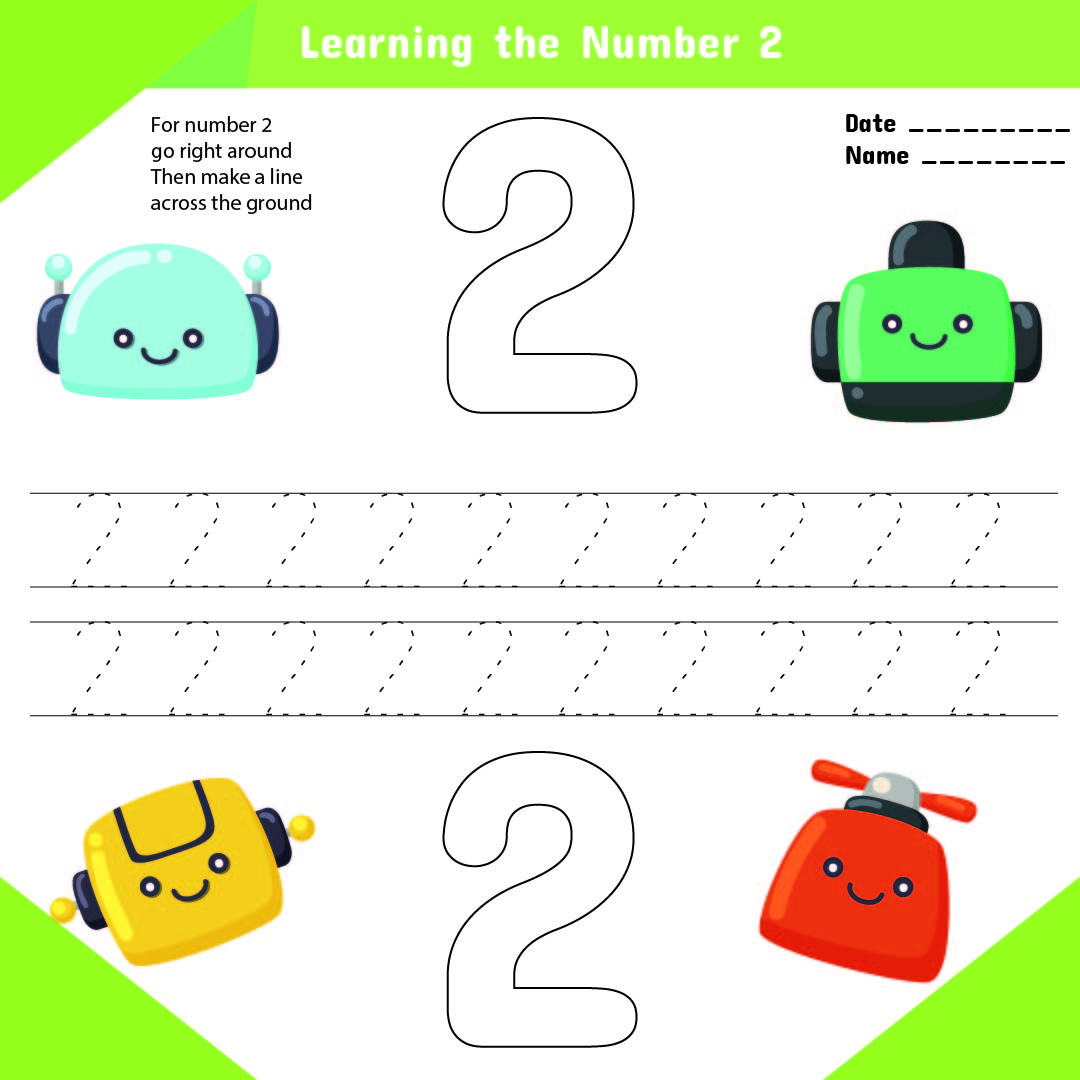 6 Best Images Of Printable Number Worksheets For Preschool