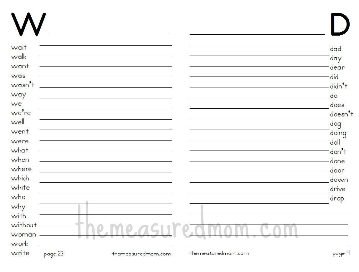 5 Best Images Of Blank Printable Worksheets