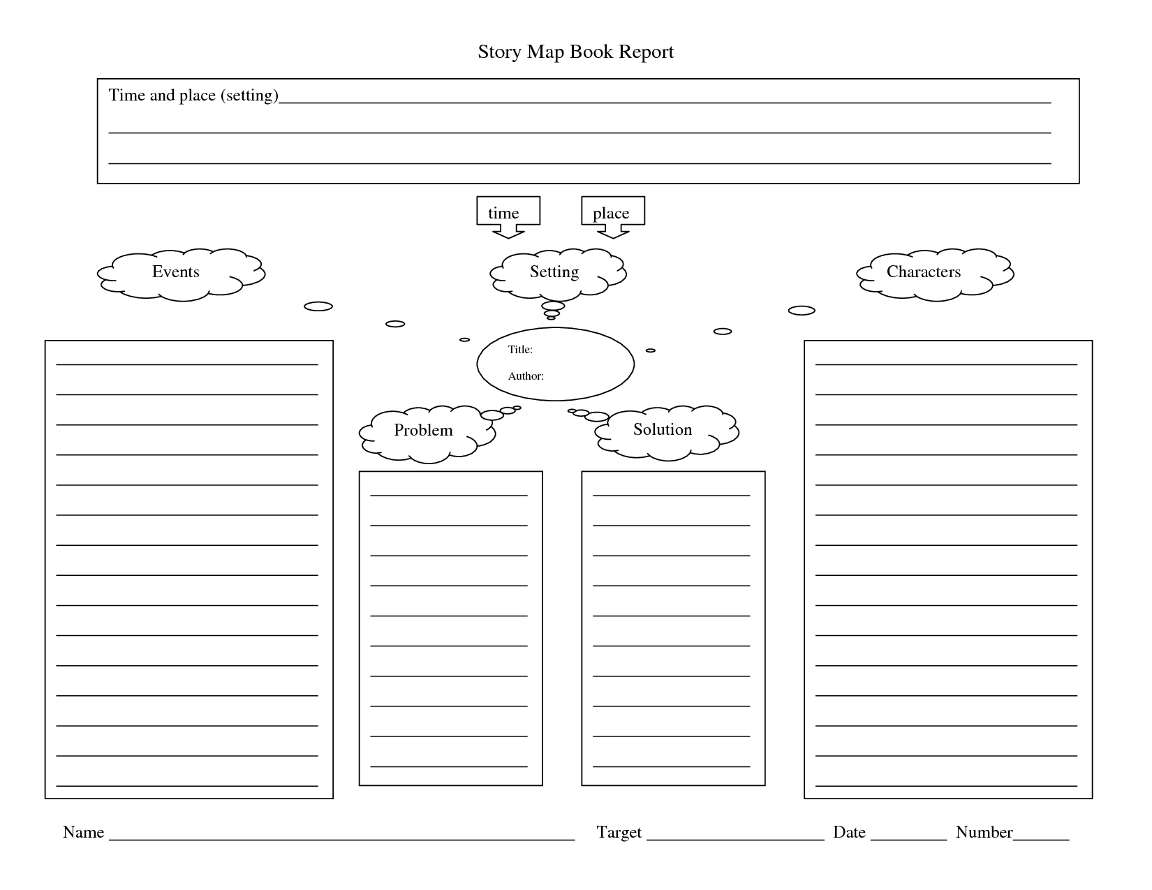 4 Best Images Of Story Book Printable Template
