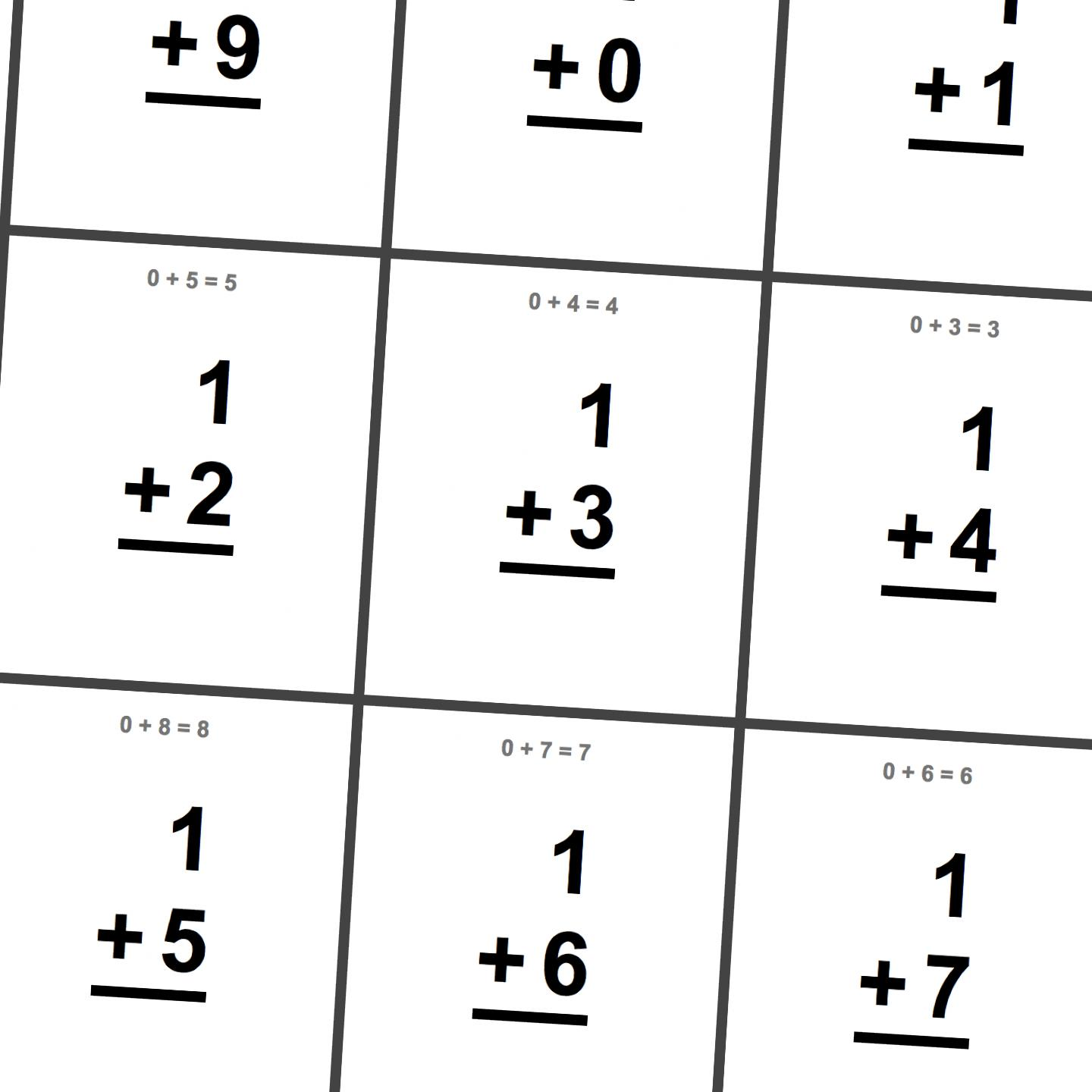 6 Best Images Of Printable Math Digit Cards