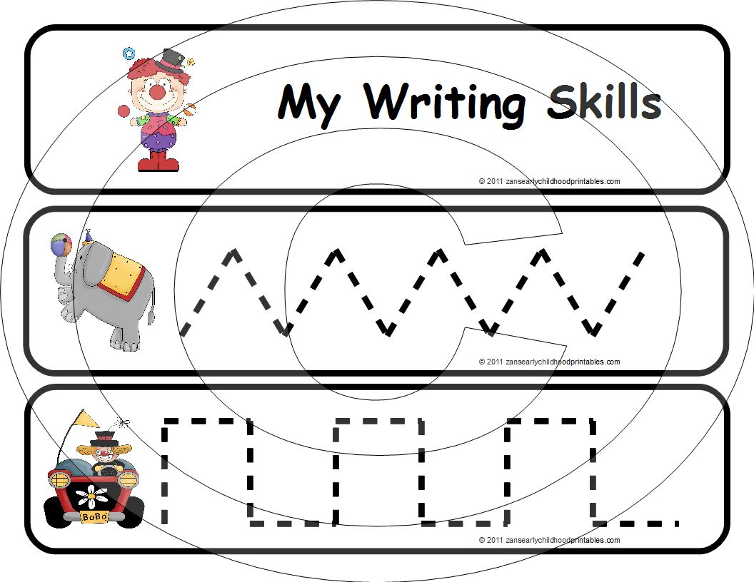 7 Best Images Of Early Childhood Worksheets Printables