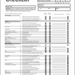 7 Best Printable Vehicle Inspection Checklist Printablee Com
