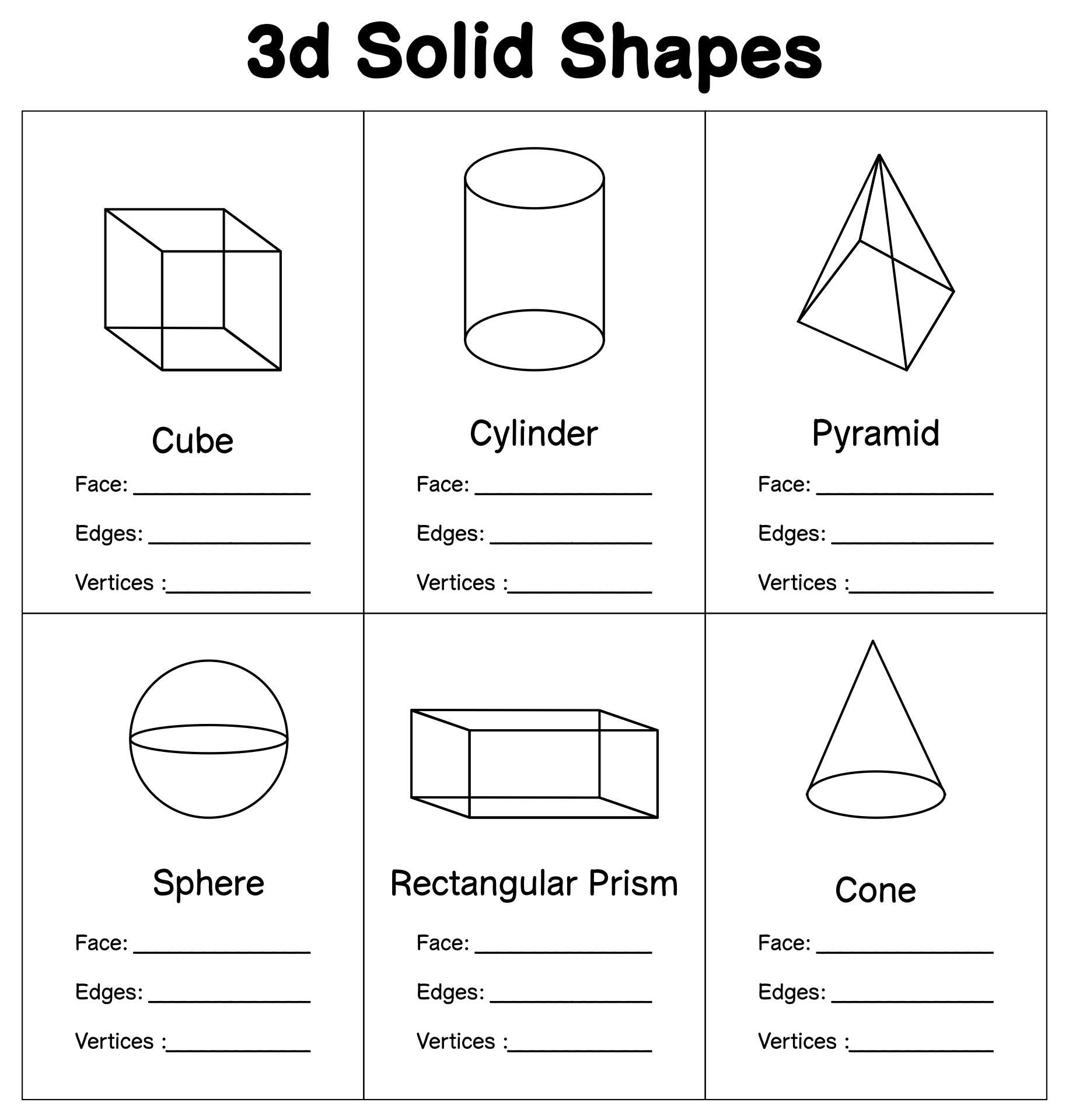 5 Best Images Of Printable 3d Shapes Kindergarten
