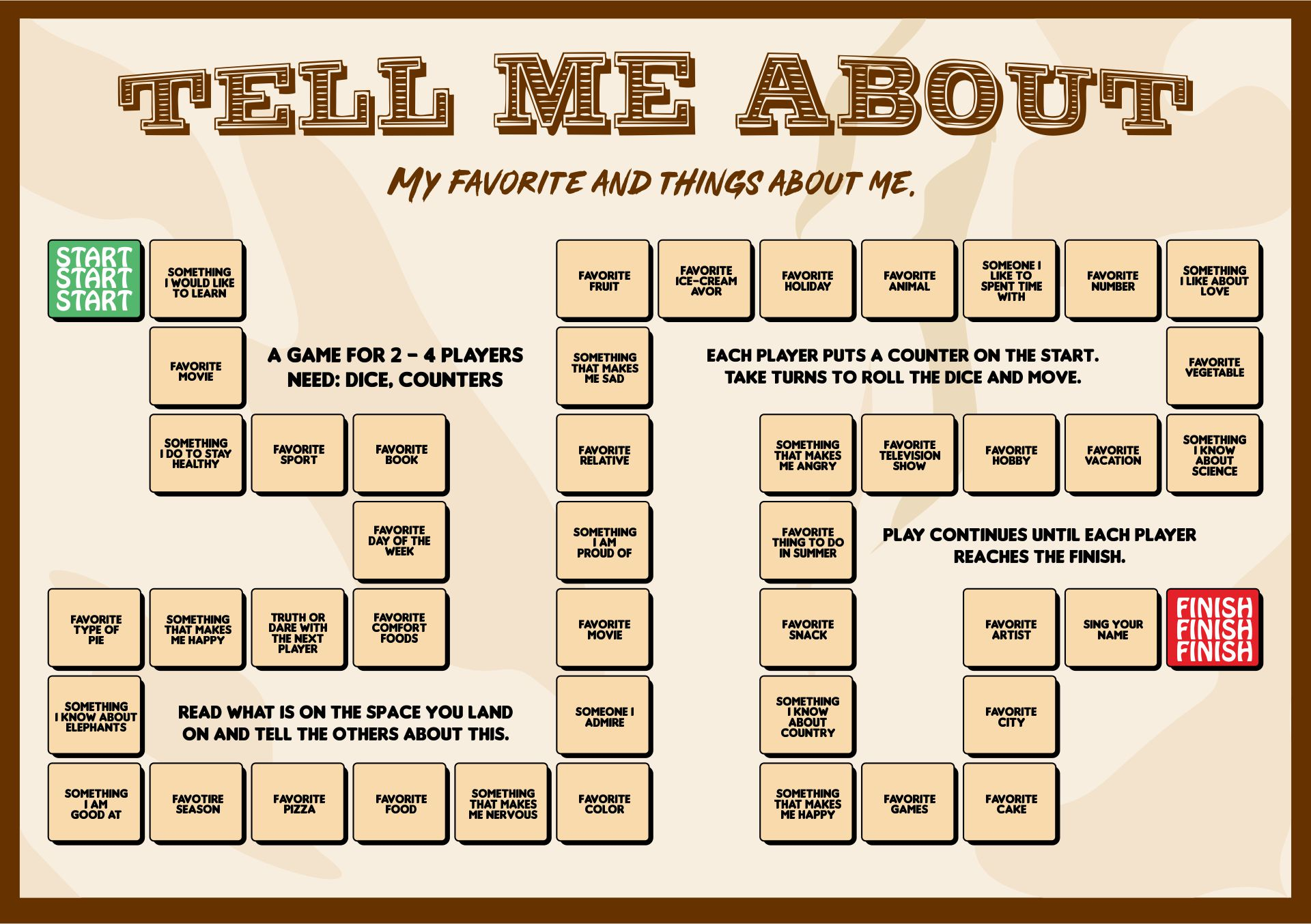 8 Best Images Of Adult Board Games Printable Games
