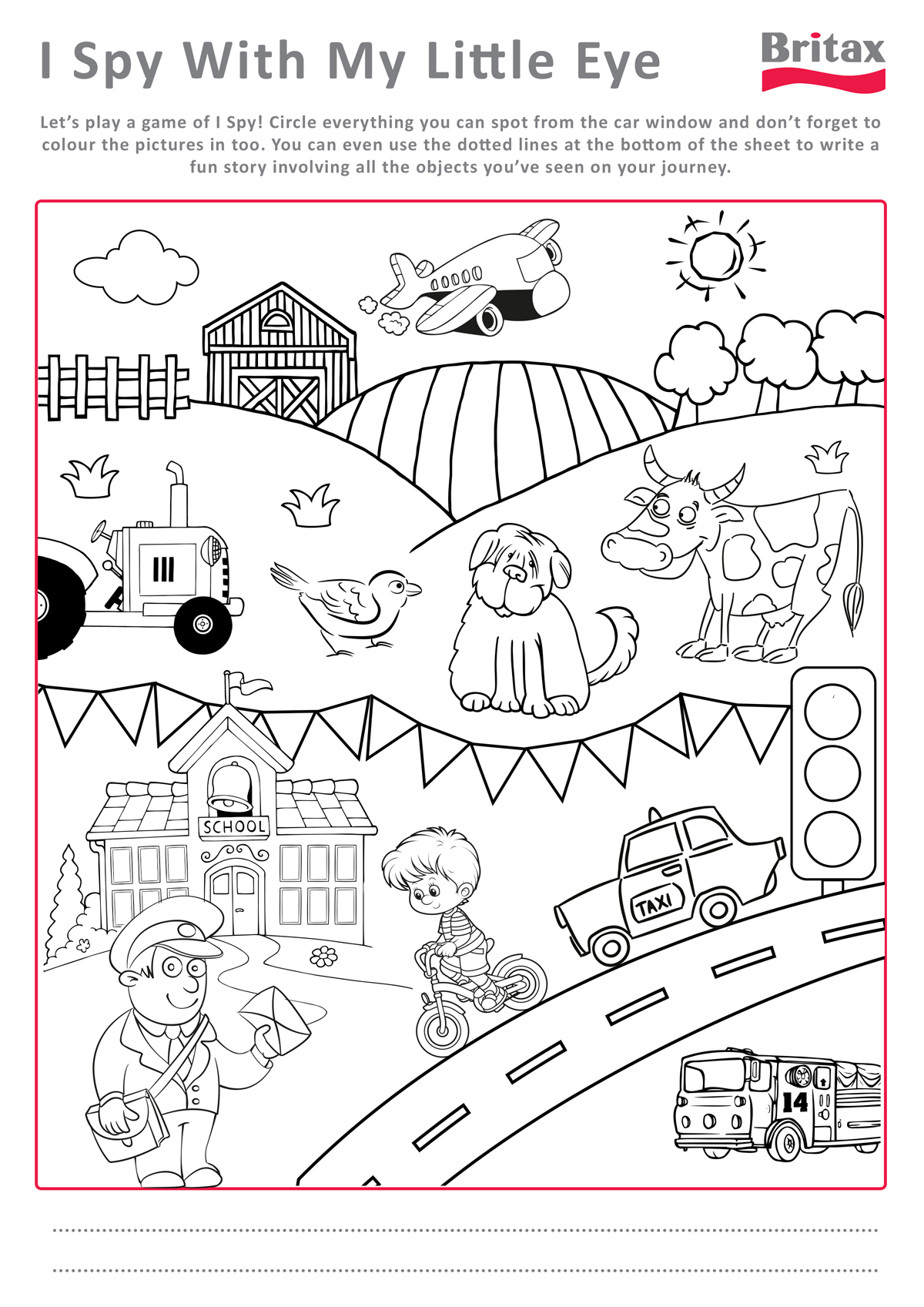 5 Best Images Of Printable Activity Sheets