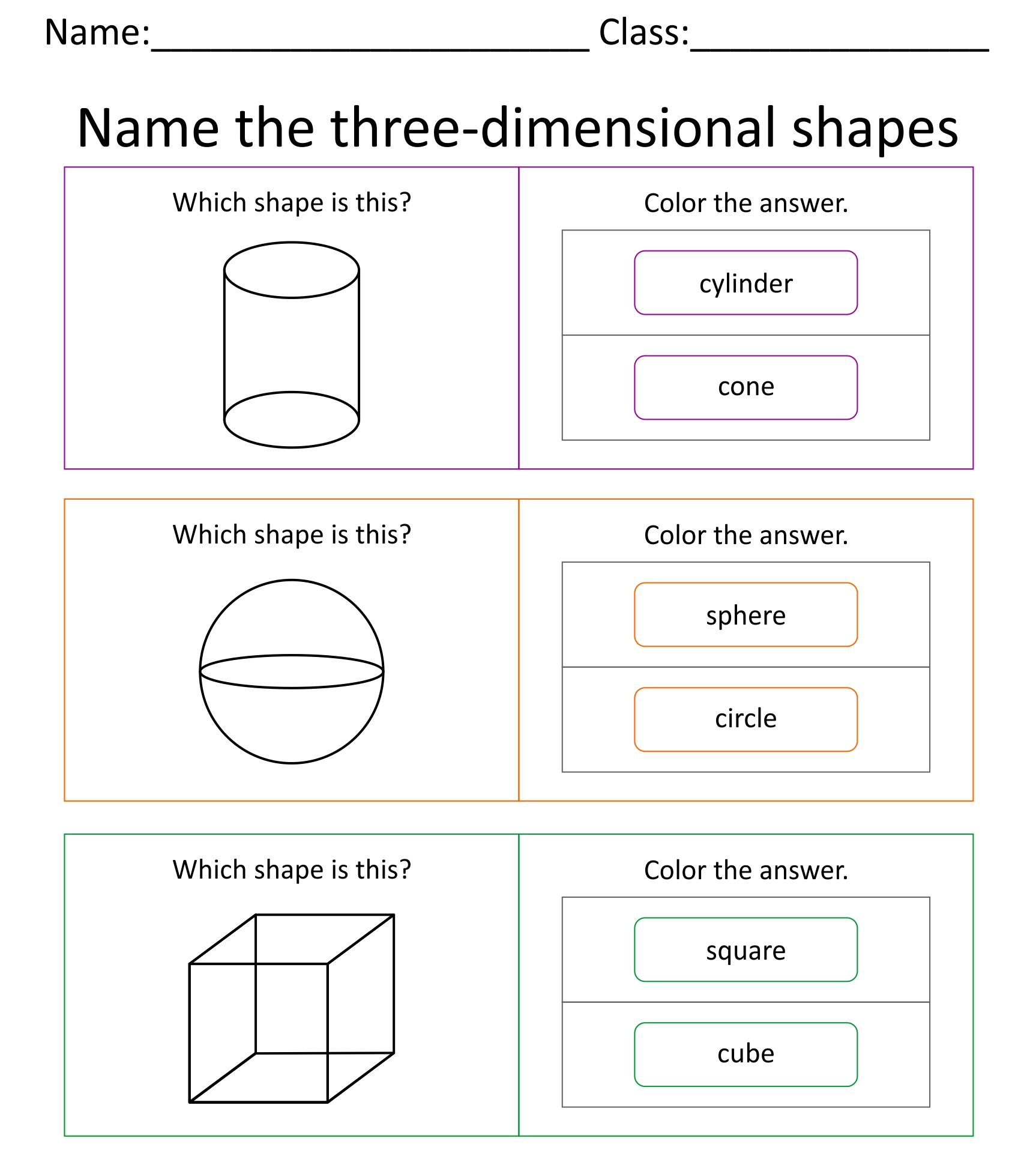 5 Best Images Of Printable 3d Shapes Kindergarten
