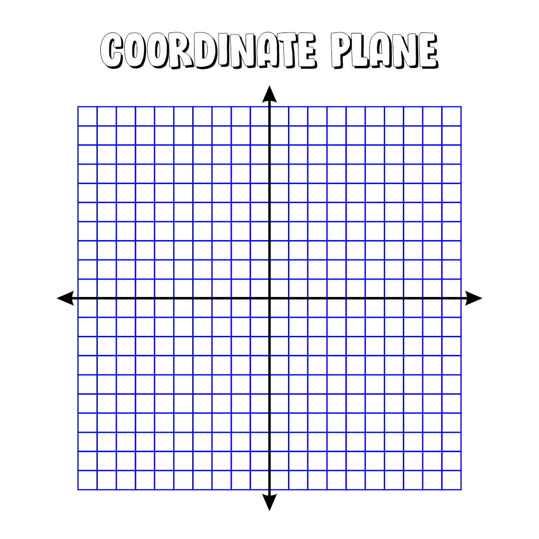 6 Best Images Of Printable Coordinate Picture Graphs