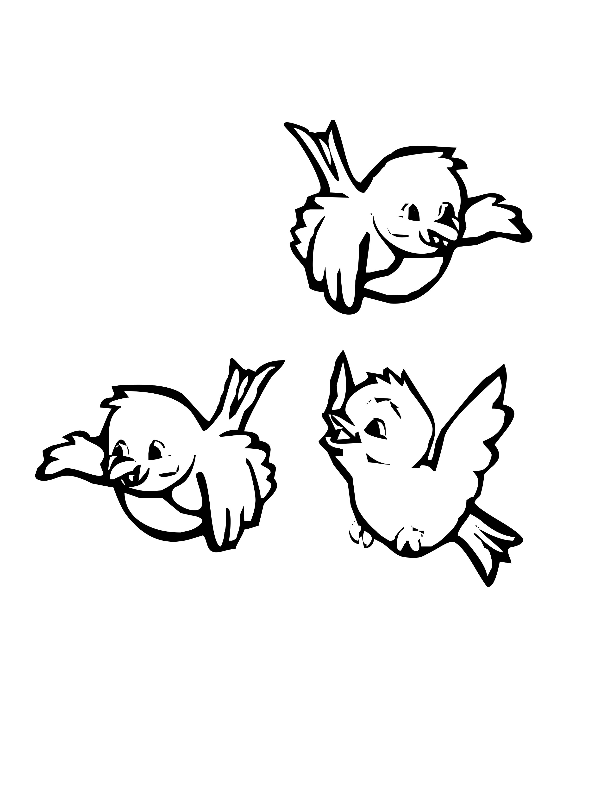 4 Best Images Of Free Printable Bird Coloring Sheet