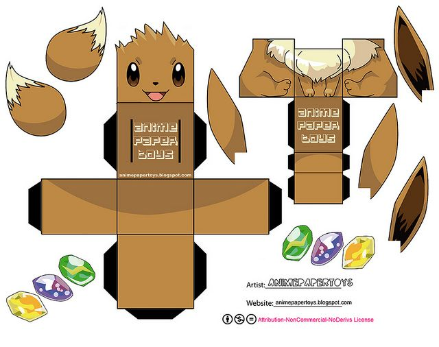 8 Best Images Of Printable Pokemon Paper Boxes Angry