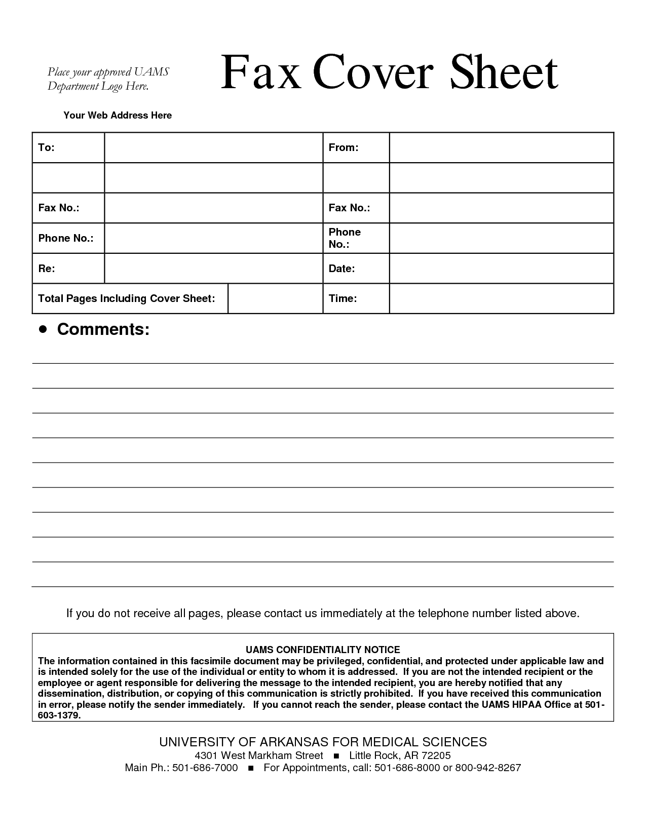 Doc.#9001165: Confidential Fax Cover Sheet – Fax Cover Sheet ...
