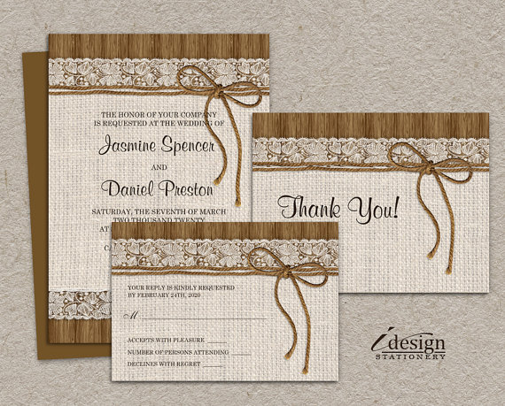 Downloadable Wedding Invitation Templates Free – Free Printable Rustic Wedding Invitations