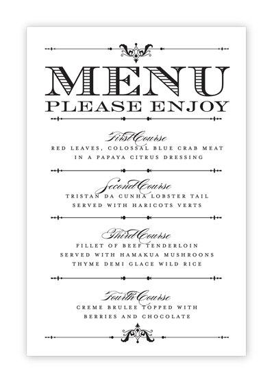 Doc770477 Free Menu Templates Microsoft Word Free Restaurant – Free Menu Templates for Word