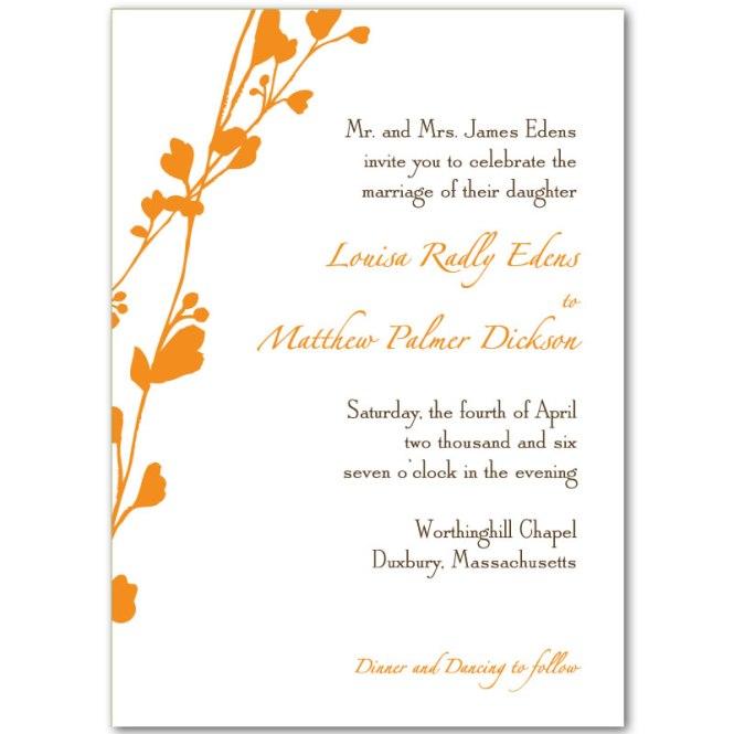 Blank Wedding Invitation Paper – Blank Printable Wedding Invitations