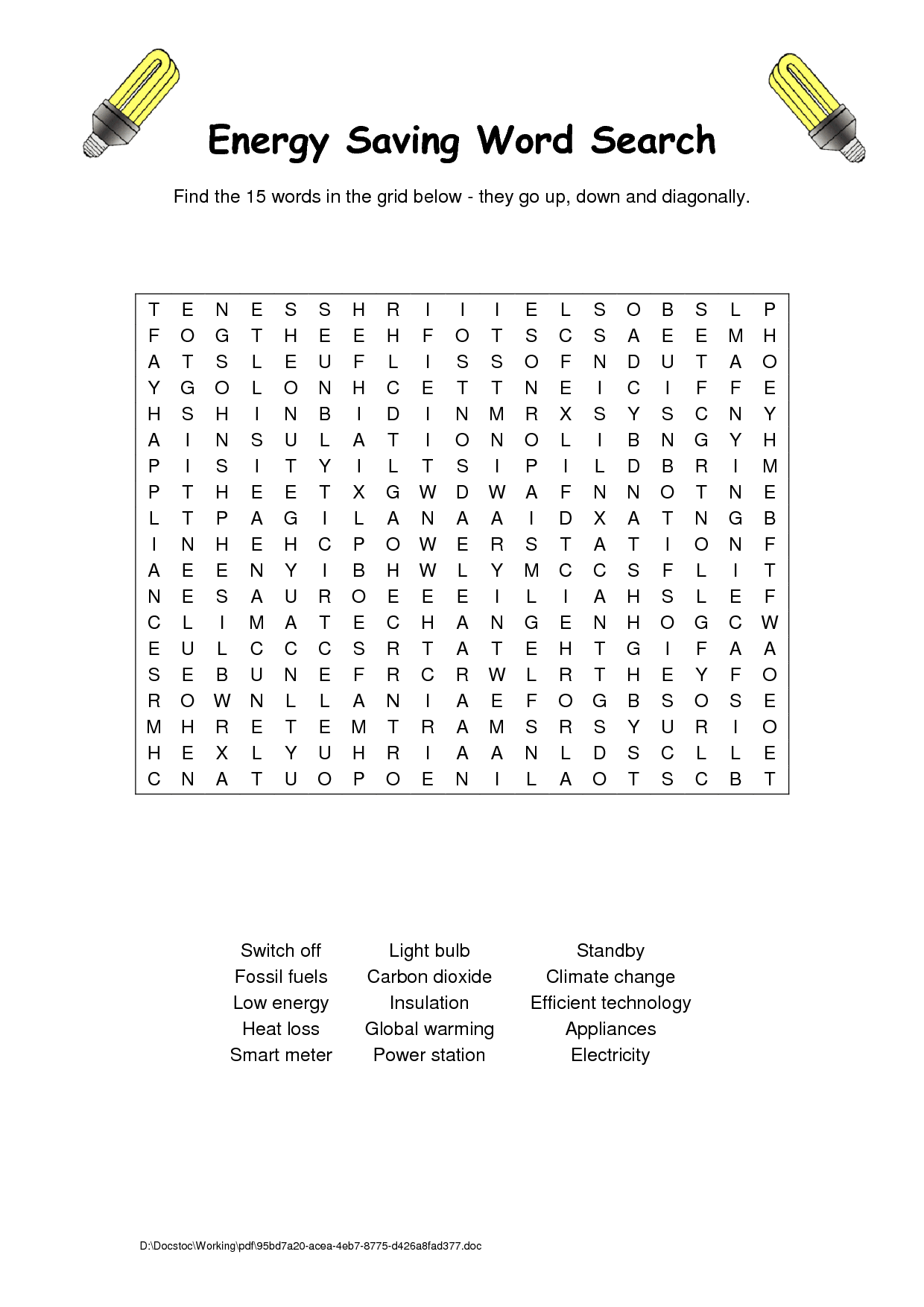 4 Best Images Of Fossil Word Search Printable