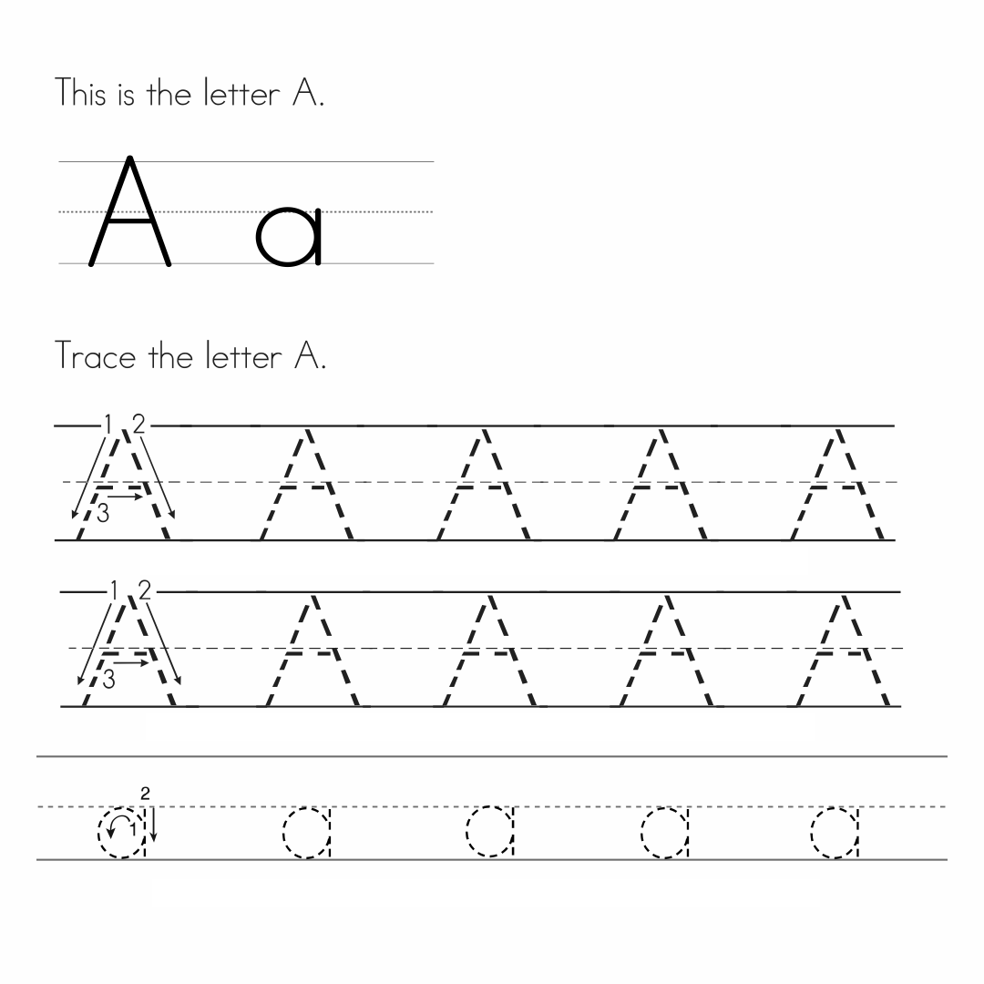 7 Best Preschool Writing Worksheets Free Printable Letters