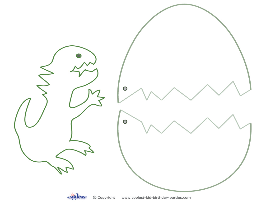 6 Best Images Of Dinosaurs Printables Cut Out Templates