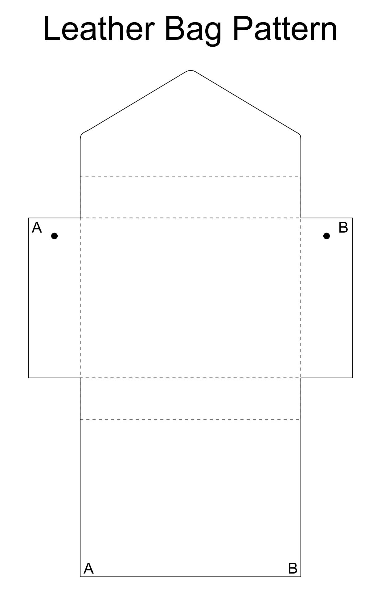 Free Leather Tote Patterns