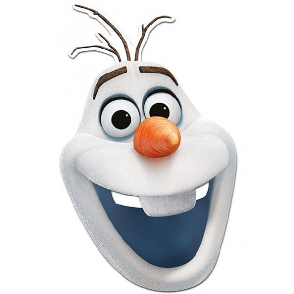 9 Best Images Of Olaf Printable Face Mask Olaf Frozen