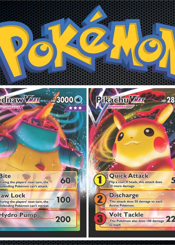 Rare Pokemon Card Ready To Print