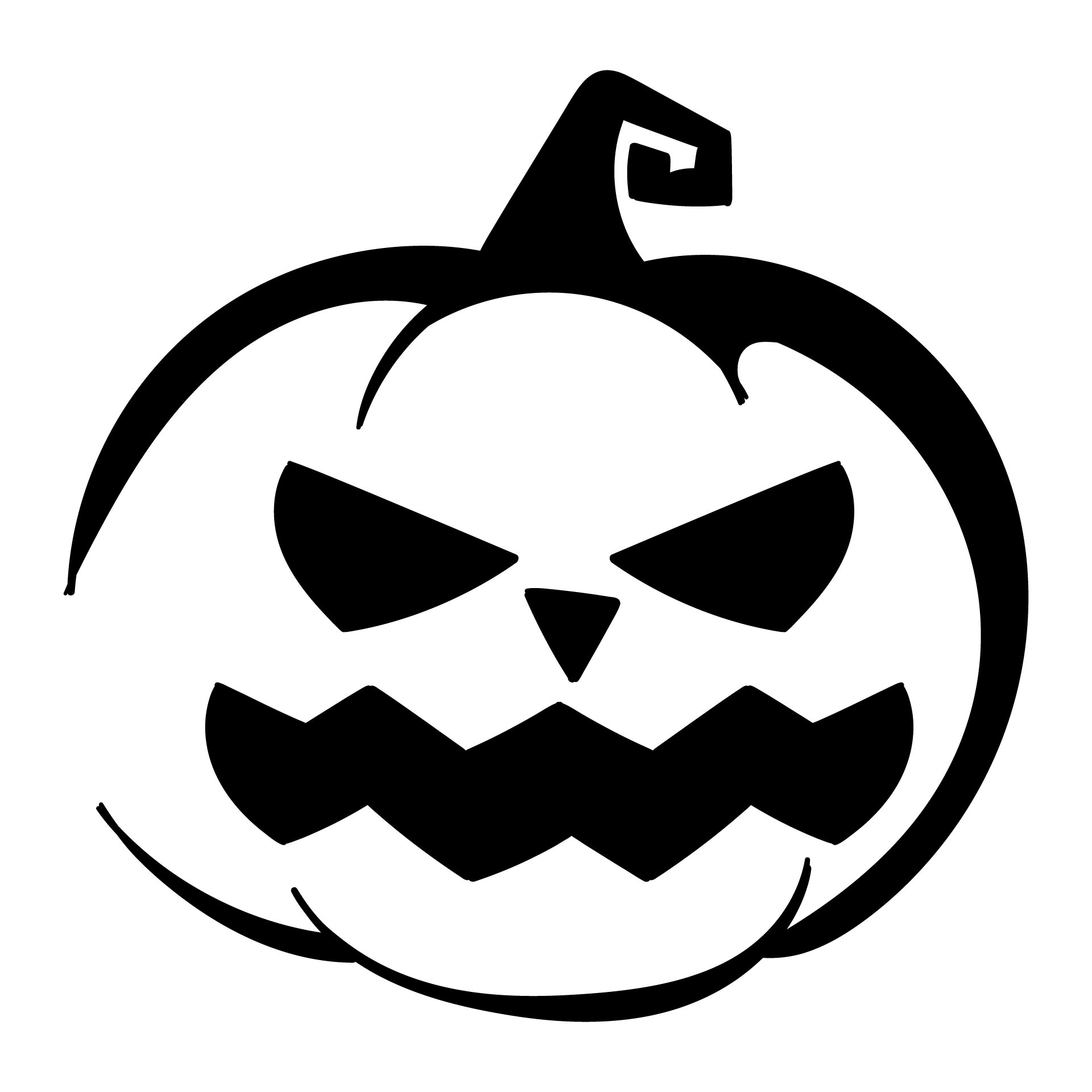 7 Best Images Of Printable Halloween Templates And