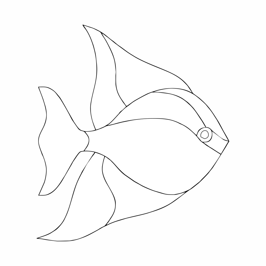6 Best Images Of Printable Fish Pattern