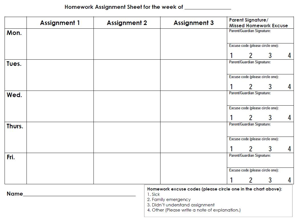 4 Best Images Of Printable Monthly Assignment Calendar