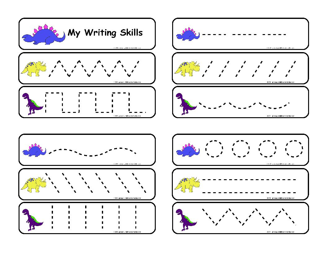 5 Best Images Of Printable Writing Activity