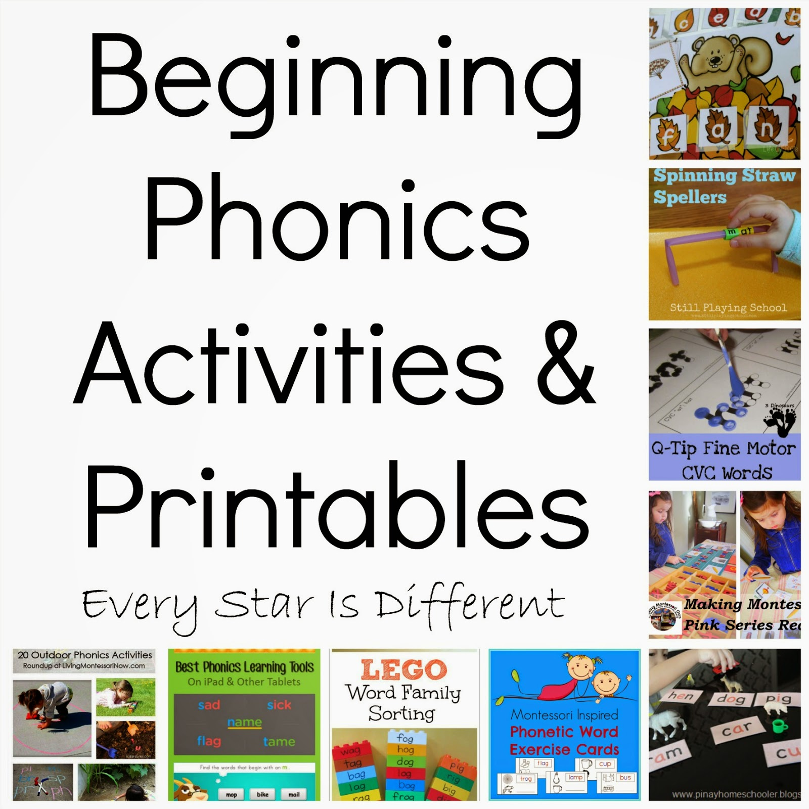 8 Best Images Of Beginning Letter Sound Activities
