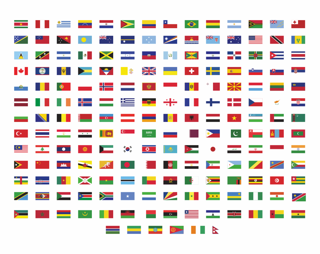9 Best Printable Flags Of Different Countries