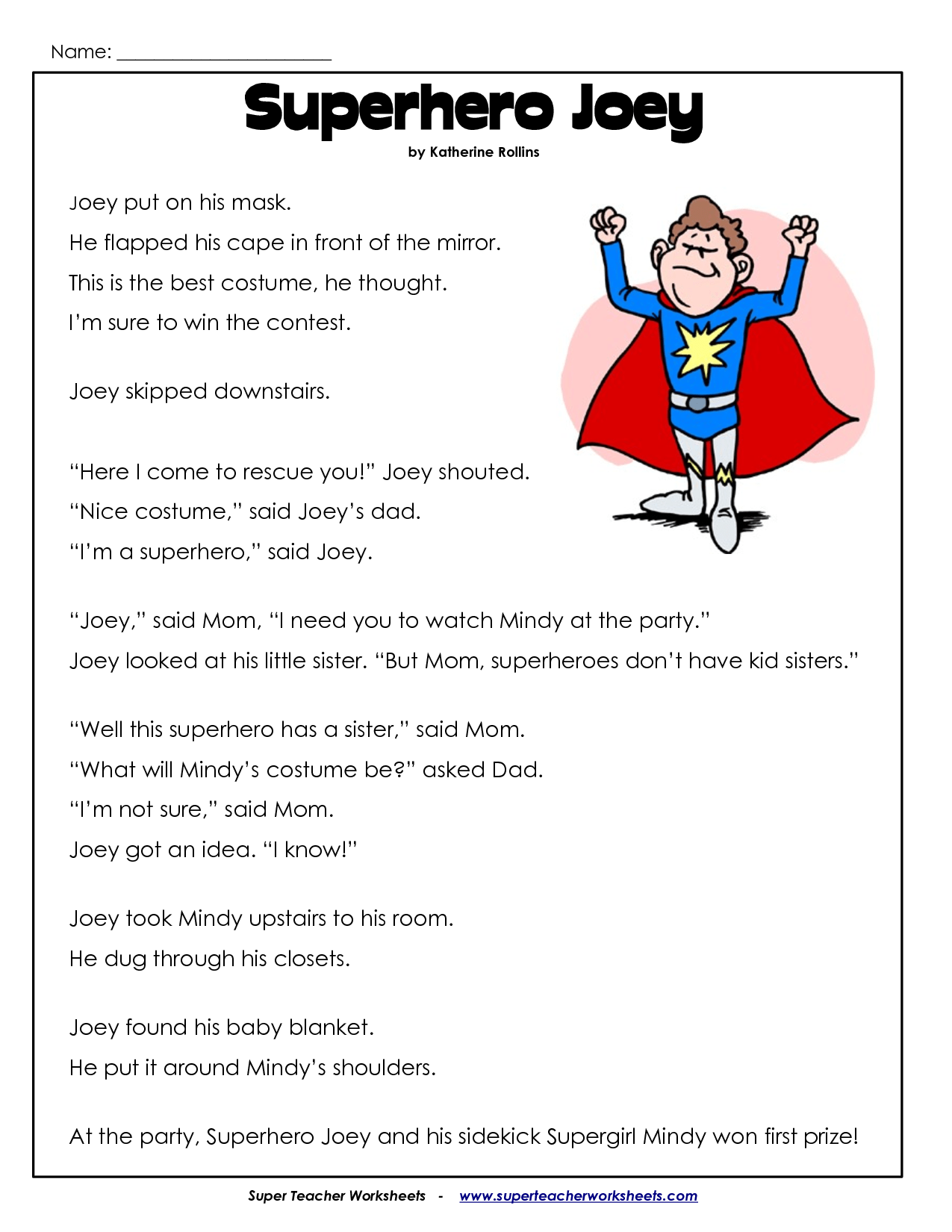 8 Best Images Of Printable Reading Worksheets For 2nd